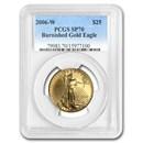 2006-W 1/2 oz Burnished American Gold Eagle SP-70 PCGS