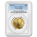 2006-W 1/2 oz Burnished Gold American Eagle MS-69 PCGS