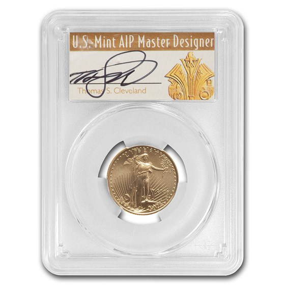 2006-W 1/4 oz Burnished American Gold Eagle SP-70 PCGS (Clev.)