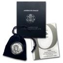 2006-W 1/4 oz Burnished Platinum American Eagle (w/Box & COA)