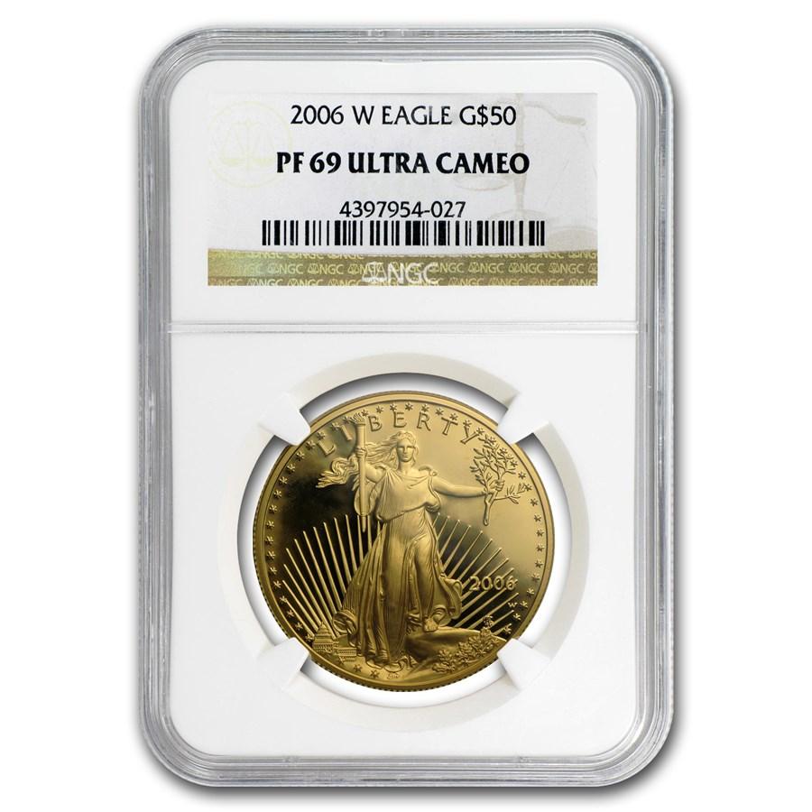 2006-W 1 oz Proof American Gold Eagle PF-69 UCAM NGC