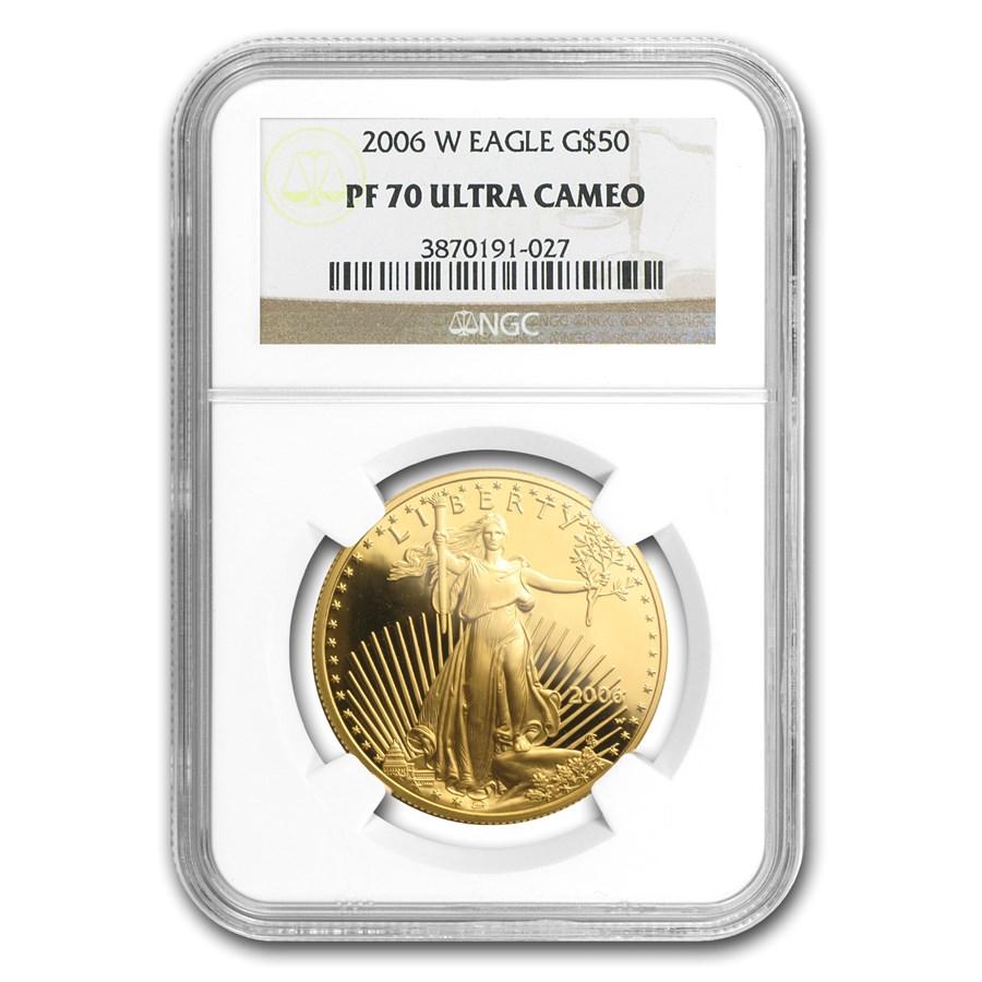 2006-W 1 oz Proof American Gold Eagle PF-70 NGC
