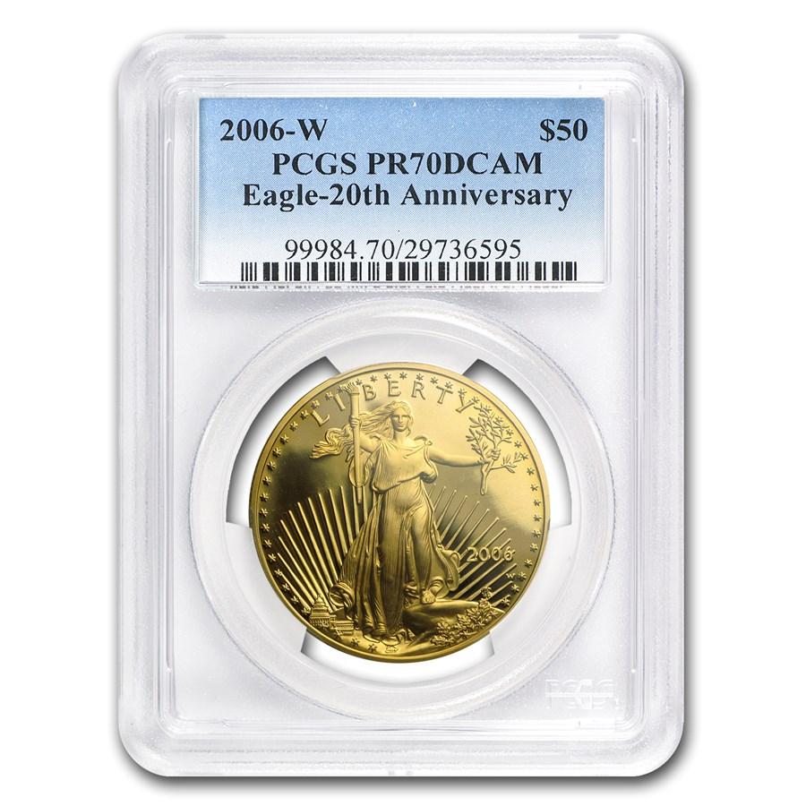 2006-W 1 oz Proof American Gold Eagle PR-70 PCGS