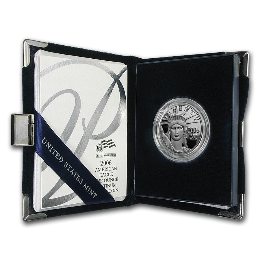 2006-W 1 oz Proof American Platinum Eagle (w/Box & COA)