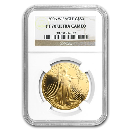 2006-W 1 oz Proof Gold American Eagle PF-70 NGC