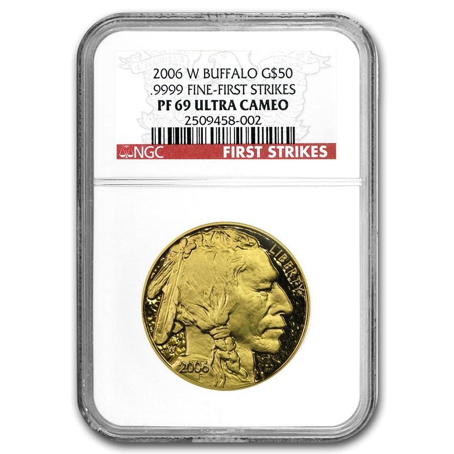 2006-W 1 oz Proof Gold Buffalo PF-69 NGC (FS)