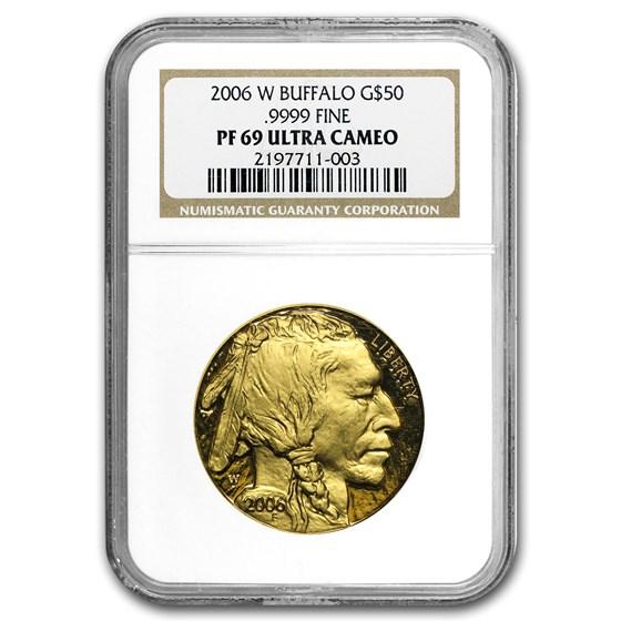 2006-W 1 oz Proof Gold Buffalo PF-69 NGC