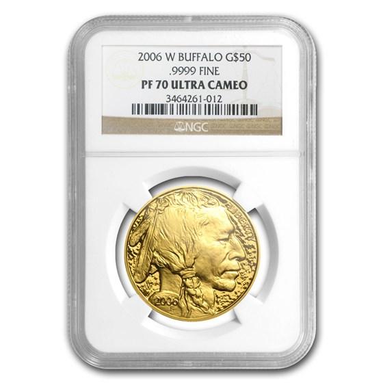 2006-W 1 oz Proof Gold Buffalo PF-70 NGC