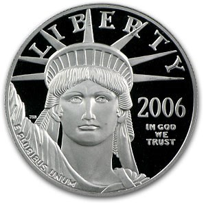 2006-W 1 oz Proof Platinum American Eagle (Capsule Only)