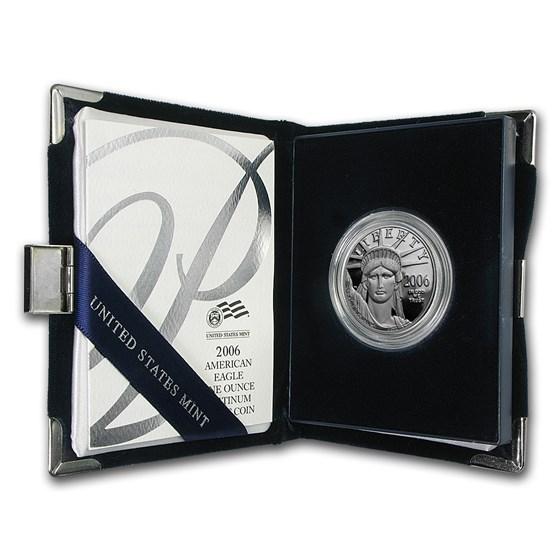2006-W 1 oz Proof Platinum American Eagle (w/Box & COA)