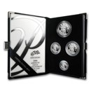 2006-W 4-Coin Proof American Platinum Eagle Set (w/Box & COA)