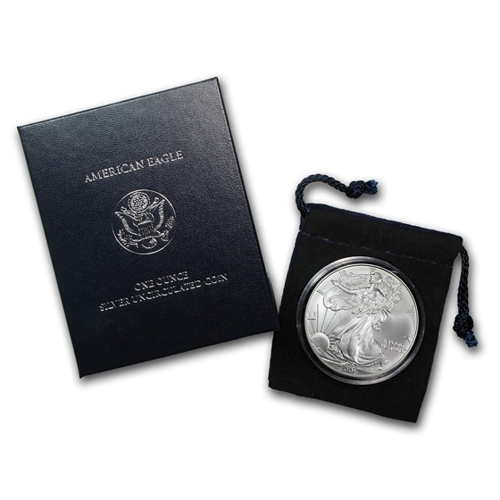 2006-W Burnished American Silver Eagle (w/Box & COA)