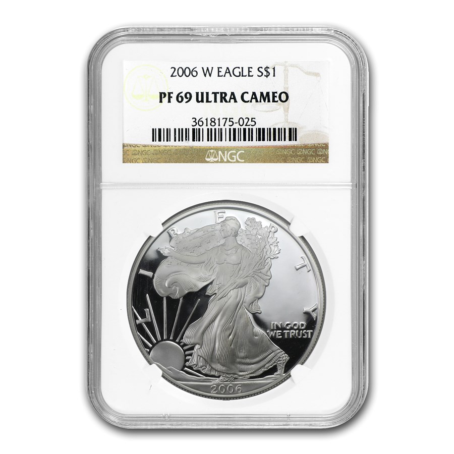 2006-W Proof American Silver Eagle PF-69 NGC