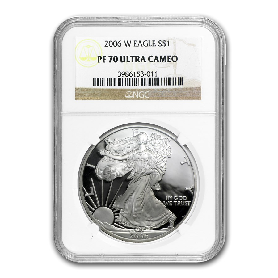 2006-W Proof American Silver Eagle PF-70 NGC