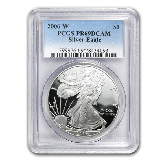 2006-W Proof American Silver Eagle PR-69 PCGS