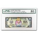 2007 $1.00 Disney Dollar 50th Anniv. Cinderella Gem CU-64 EPQ PMG