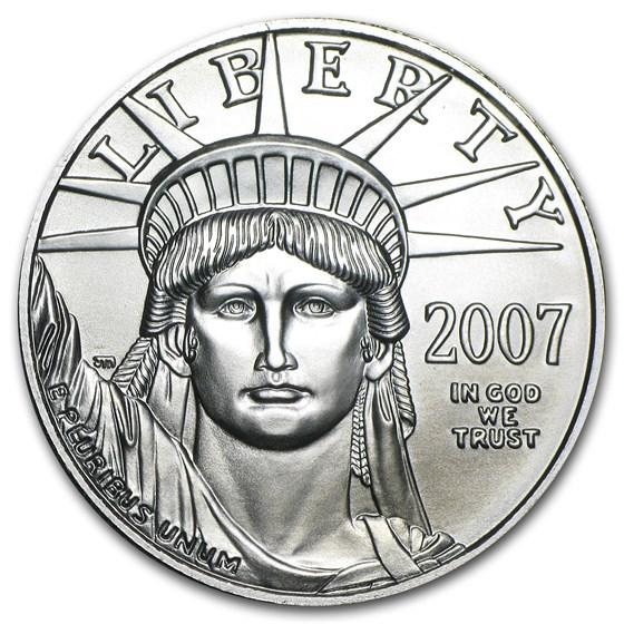 2007 1 oz American Platinum Eagle BU