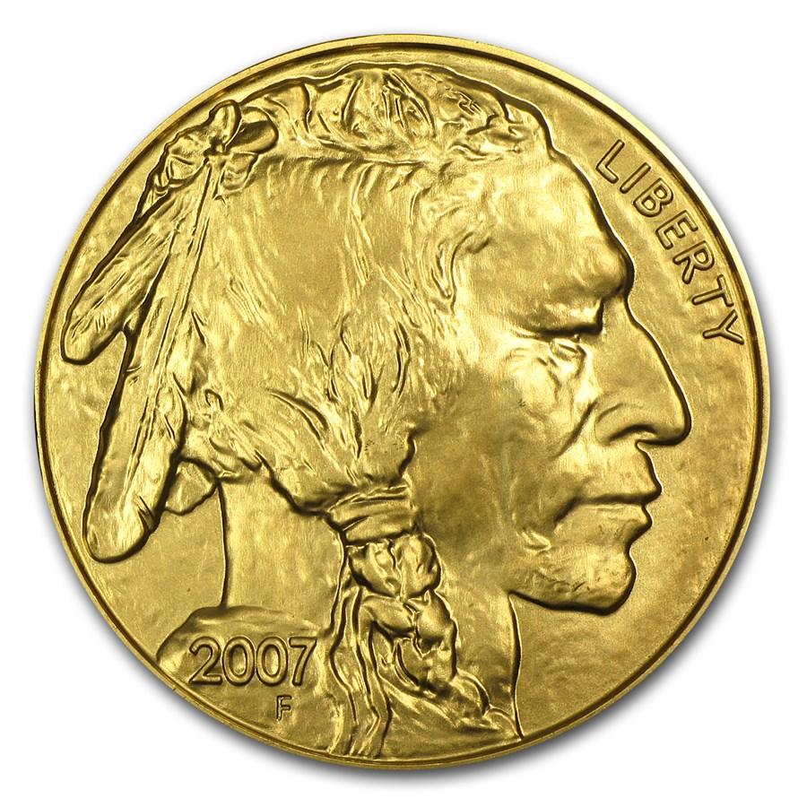 2007 1 oz Gold Buffalo BU