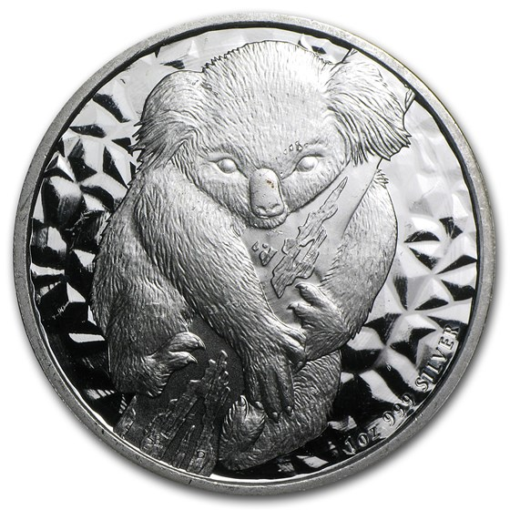 2007 1 oz Silver Australian Koala (Light Abrasions)