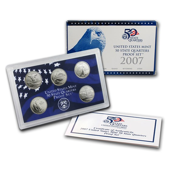 2007 50 State Quarters Proof Set