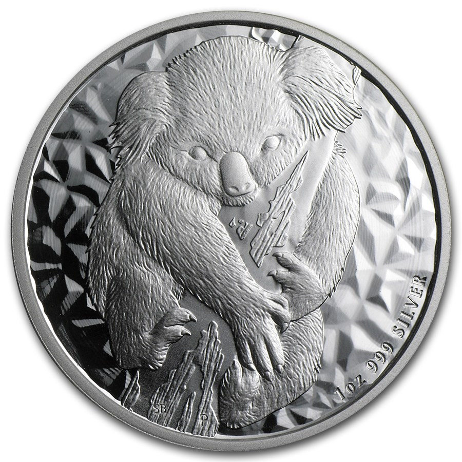 2007 Australia 1 oz Silver Koala BU