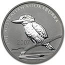 2007 Australia 1 oz Silver Kookaburra BU