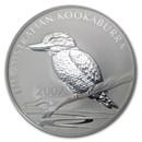 2007 Australia 10 oz Silver Kookaburra BU