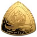 2007 Bermuda 5 oz Proof Gold $90 San Pedro