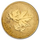 2007 Canada 1 oz Gold Maple Leaf .99999 BU (Test Coin)