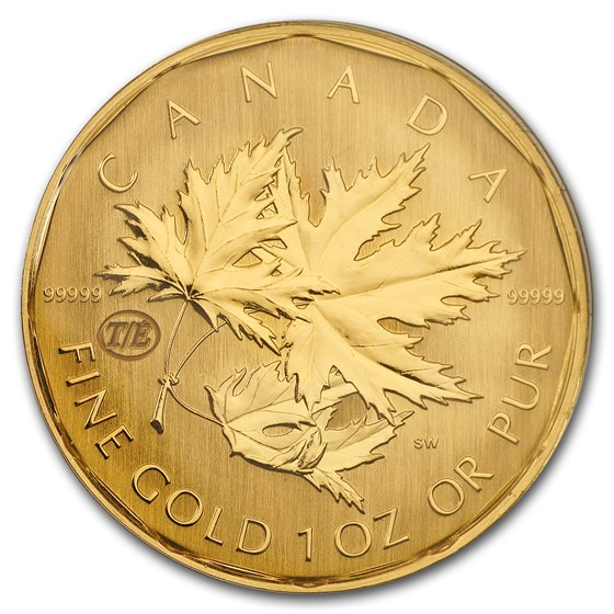 2007 Canada 1 oz Gold Maple Leaf .99999 BU (Test Coin)