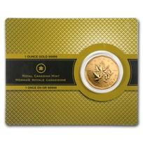 2007 Canada 1 oz Gold Maple Leaf .99999 BU (w/Assay Card)