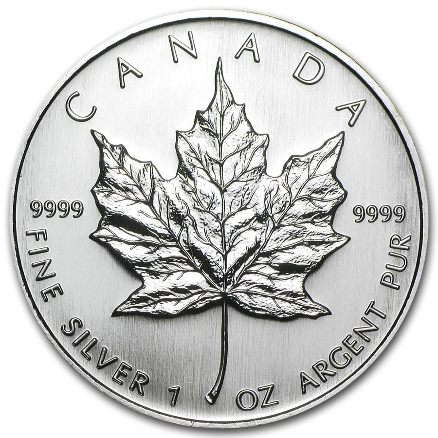 2007 Canada 1 oz Silver Maple Leaf BU