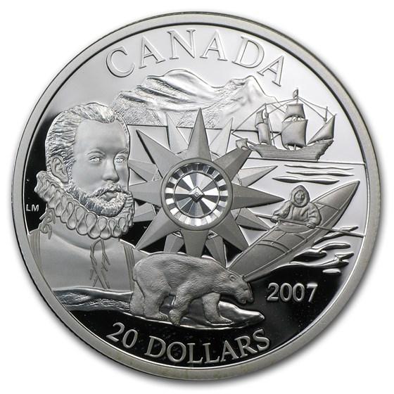 2007 Canada Silver $20 International Polar Year
