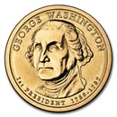 2007-D George Washington Presidential Dollar BU