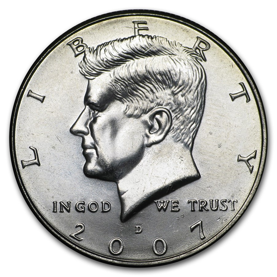 2007-D Kennedy Half Dollar BU
