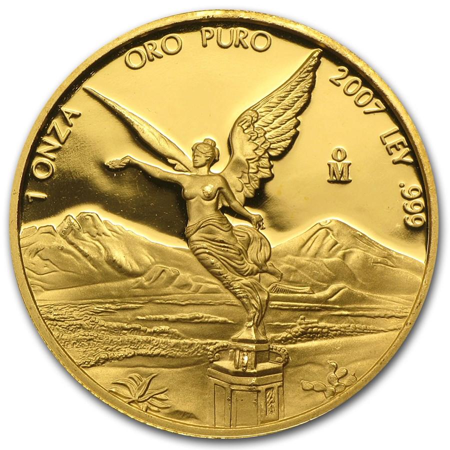 2007 Mexico 1 oz Proof Gold Libertad