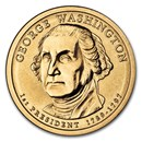 2007-P George Washington Presidential Dollar BU