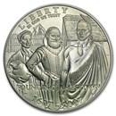 2007-P Jamestown 400th Anniv $1 Silver Commem BU (Capsule only)