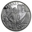 2007-P Jamestown 400th Anniv $1 Silver Commem Proof (w/Box & COA)