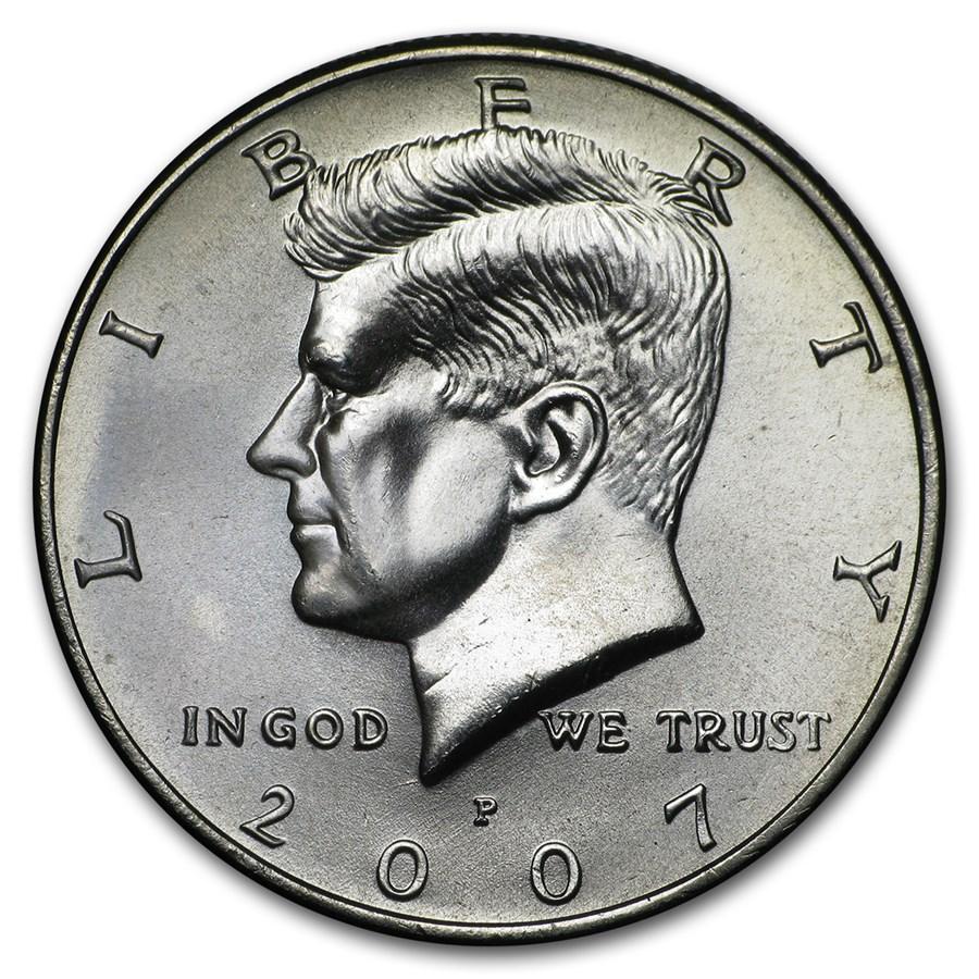 2007-P Kennedy Half Dollar BU