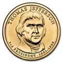 2007-P Thomas Jefferson Presidential Dollar BU