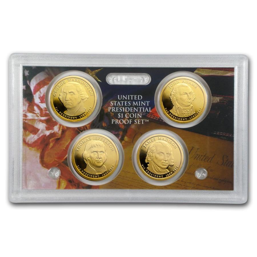 2007 Presidential Dollar Proof Set (No Box/COA)