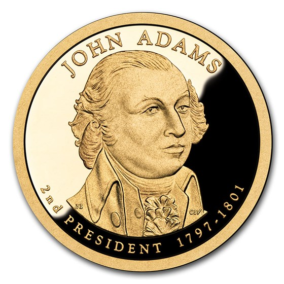 2007-S John Adams Presidential Dollar Proof