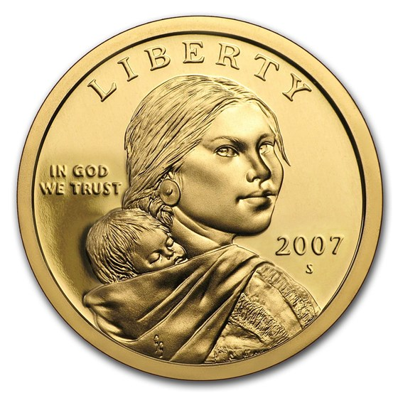 2007-S Sacagawea Dollar Gem Proof