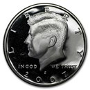 2007-S Silver Kennedy Half Dollar Gem Proof