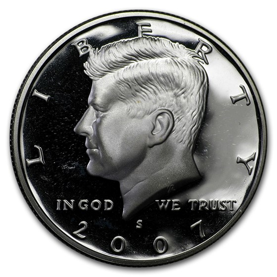 2007-S Silver Kennedy Half Dollar Gem Proof