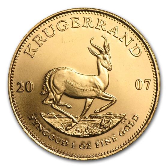 2007 South Africa 1 oz Gold Krugerrand BU