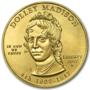 2007-W 1/2 oz Uncirculated Gold Dolley Madison (Capsule Only)