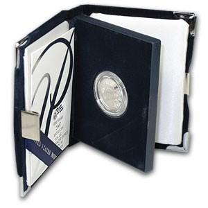 2007-W 1/4 oz Proof American Platinum Eagle (w/Box & COA)