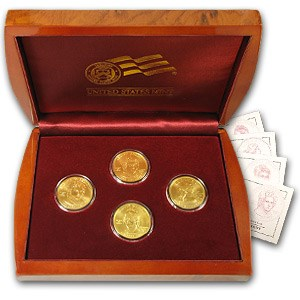 2007-W 4-Coin 1/2 oz Uncirculated Gold First Spouse